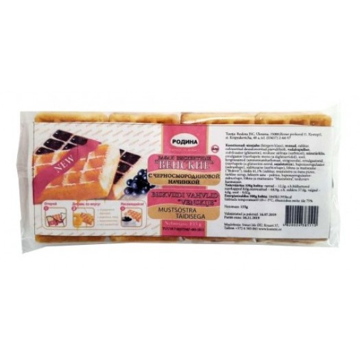 Venskie with black currant 135g