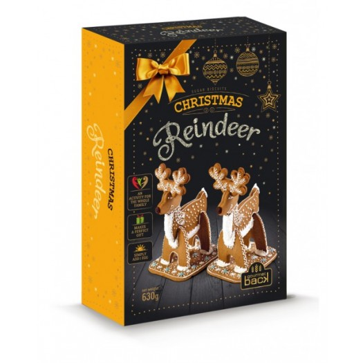 №27 Selection of gingerbreads Christmas Reindeer 750g