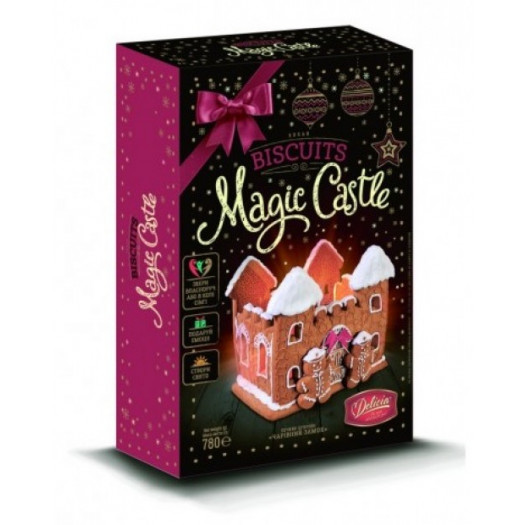 №28 Selection of gingerbreads Magic Castle 780g
