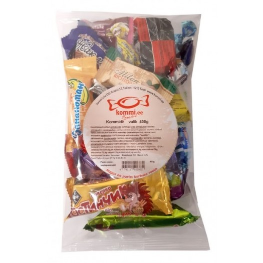 Candies pack 400g