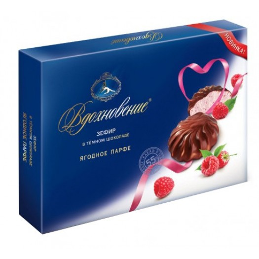 Vdohnovenije Berry Parfait in dark chocolate 245g