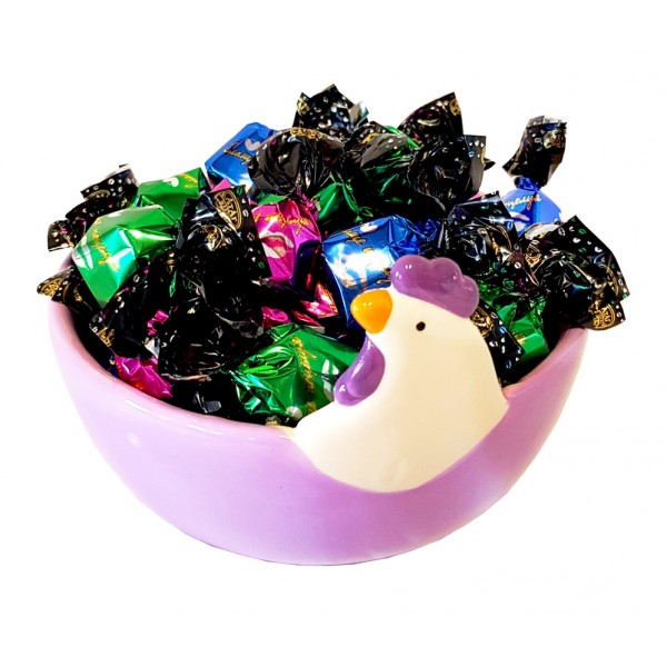 Ceramic chicken with candies 200g