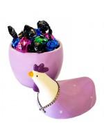 Ceramic chicken with candies 120g