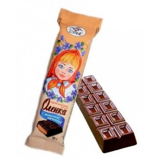 Olenka with milk filling 50g